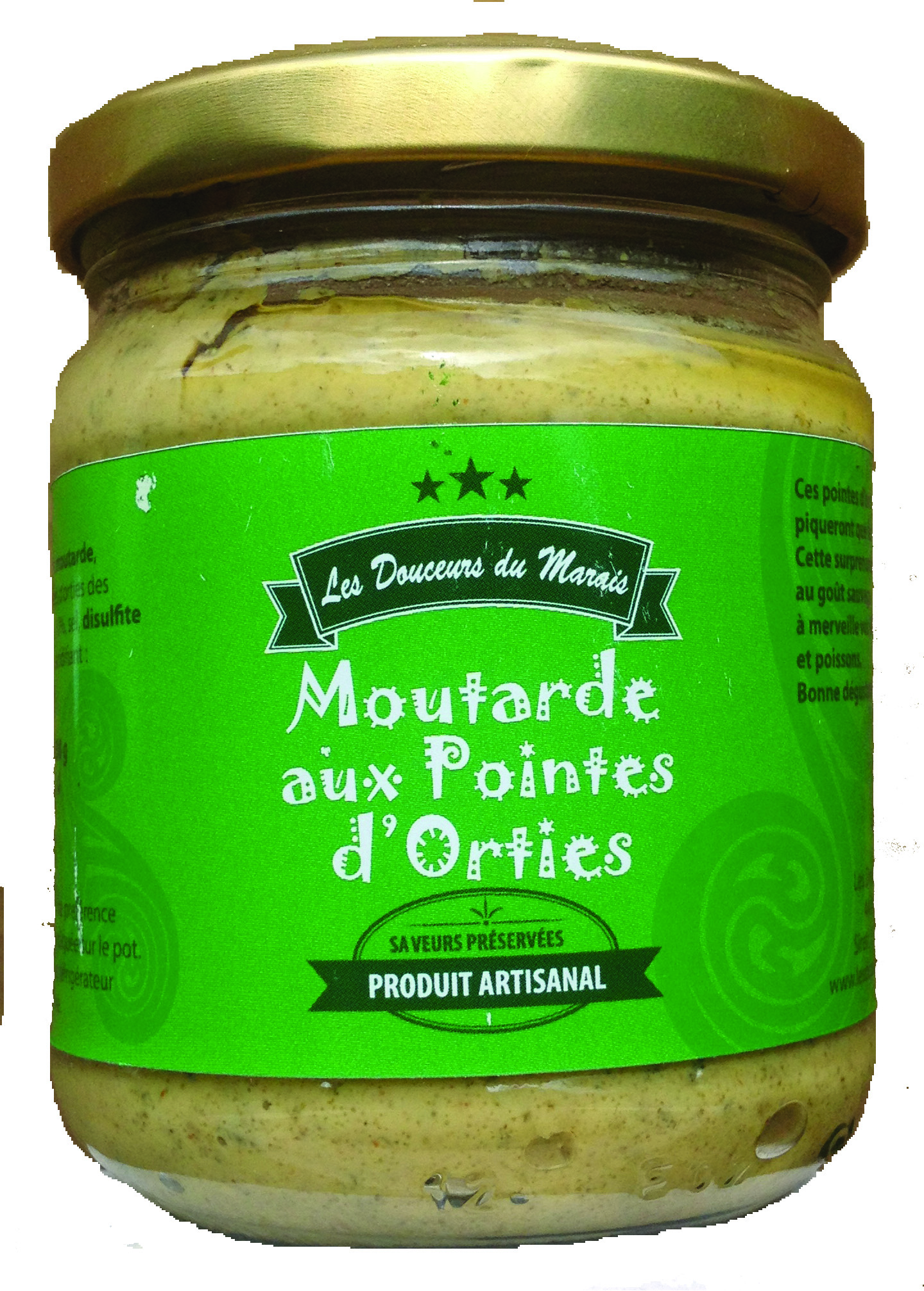 moutarde aux pointes d'orties